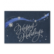 Holiday Cards- Snowflake Swirl