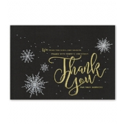 Holiday Thank You Cards- Starlight Gratitude