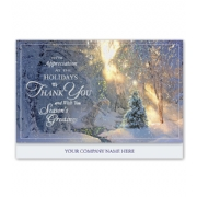 Holiday Thank You Cards- Magical Morning
