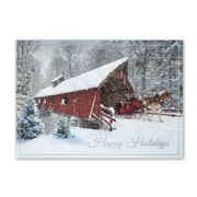 Holiday Cards- Winter Sleigh Ride