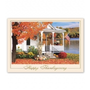 Holiday Thanksgiving Card- Americana
