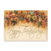 Holiday Thanksgiving Cards- Harvest Gathering