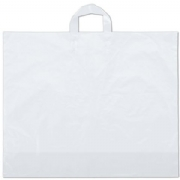 Clear Frosted Plastic Shopping Bags