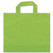 Citrus Green Plastic Shopping Bags