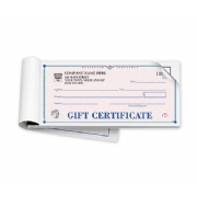 High Security Gift Certificate Books- St Croix