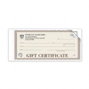 High Security Gift Certificates