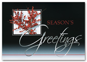 H2649, Traditional Holiday Cards - Sophistication in Red