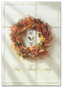 H2666, Personalized Thanksgiving Cards - Thanksgiving Homecoming