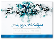 Business Holiday Card - Touch of Elegance