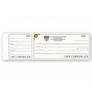 Retail Gift Certificate Book Vienna