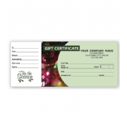 Gift Certificate- Holiday Ornament