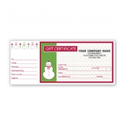 Gift Certificates- Holiday Merry Snowman