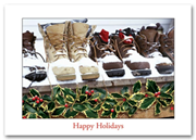 H57006, Contractor Holiday Cards - Snow Boots