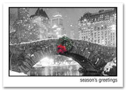 H57870, Wreath Holiday Cards - Nostalgic Greetings