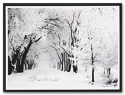 H58955, Winter Holiday Cards - Nostalgic Serenity