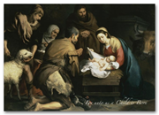 Christmas Cards - Nativity Night