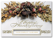 H59969, Personalized Thanksgiving Cards - Thankful Abundance