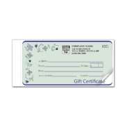 Custom Gift Certificates-Spring Bouquet