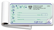 Gift Certificate Books, Spring Bouquet