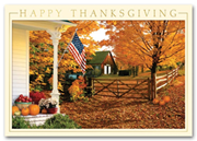 HH1619, Recycled Thanksgiving Cards - Fall Greetings