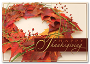 HH1620, Personalized Thanksgiving Cards - Fall's Light