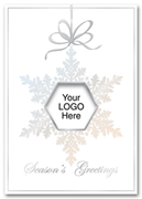 Business Holiday Card - Window Ornament