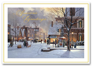 HH1679, Traditional Holiday Cards - Wonderful Life