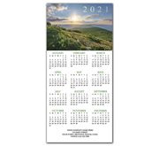 2021 holiday calendar cards for nature lovers