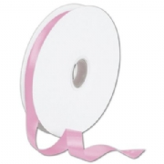Double Faced Pink Satin Ribbon