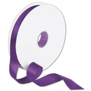Double Faced Purple Satin Ribbon