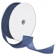 Sheer Organdy Navy Ribbon