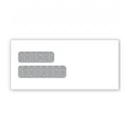 Double Window Confidential Self Seal Envelope