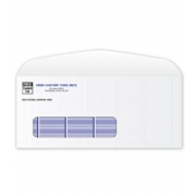 Secure Blue Tint #9 Single Window Envelope